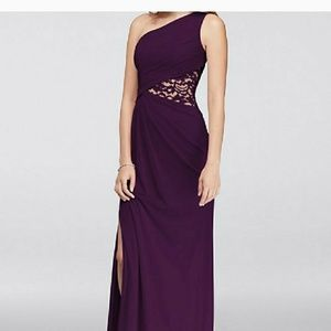 ISO Plum bridesmaid dress
